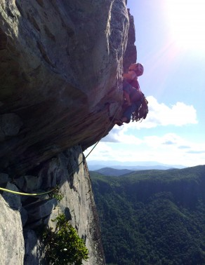 Erica Lineberry - Linville Gorge - June 2015