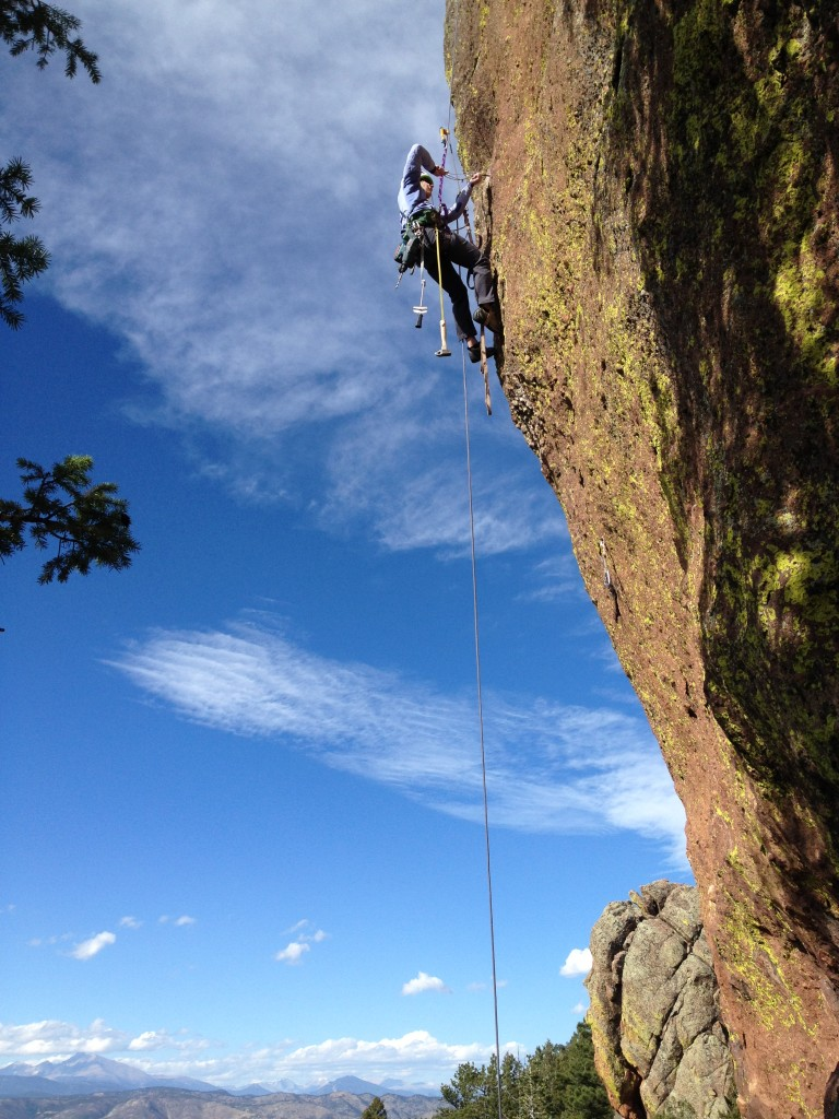Installation of New Climb on the Sacred Cliffs