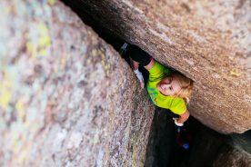 Pamela Shanti Pack Chicken Wing Offwidth Climbing