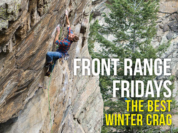 Best Winter Crags in Colorado's Front Range